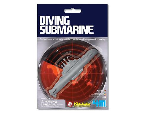 【4M】科學探索系列 - 潛水艇 Diving Submarine 00-03212