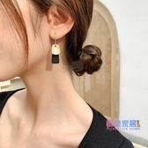 耳環 新品潮韓國氣質網紅耳飾女長款撞色耳飾品耳釘耳墜【快速出貨】