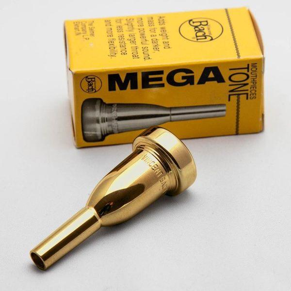 小叮噹的店- 富魯格號吹嘴(加重型) BACH K342G Mega Tone Flugelhorn 鍍金號嘴