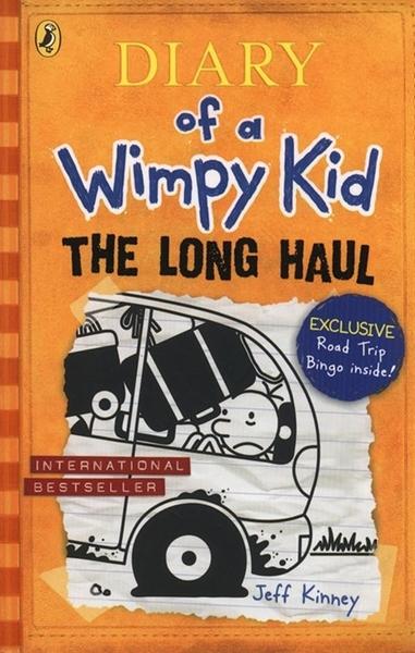 (二手書)Diary of a Wimpy Kid #9: Long Haul (International edition)