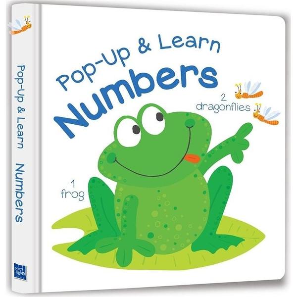 Pop Up & Learn Numbers(可愛互動立體書:有趣數字)(附美籍