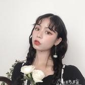 長款天然石頭耳環女氣質韓國個性百搭吊墜耳墜耳釘夏天夏季耳飾 奇思妙想屋