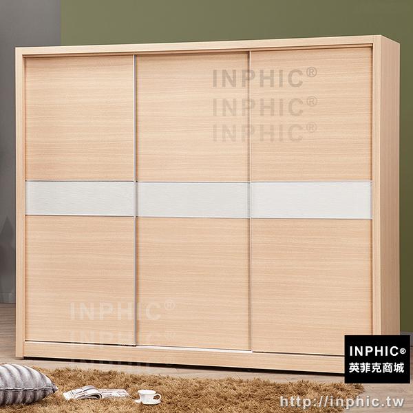 INPHIC-諾德白橡8尺推門衣櫃_BFGy