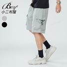 休閒短褲 街頭大口袋美式工裝短褲【NQ911003】