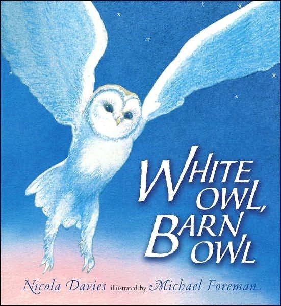 【麥克書店】WHITE OWL, BARN OWL  /英文繪本附CD 《主題:自然科學》