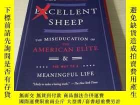 二手書博民逛書店Excellent罕見Sheep: The Miseducation of the American Elite