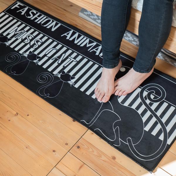 溫馨系列 腳踏墊 吸水力超強 地墊 約114cmX43cm 臥室 廚房 居家地墊