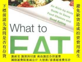 二手書博民逛書店What罕見To EatY256260 Marion Nestle North Point Press 出版