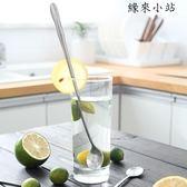 湯勺 不銹鋼長柄圓頭勺加長攪拌棒勺子
