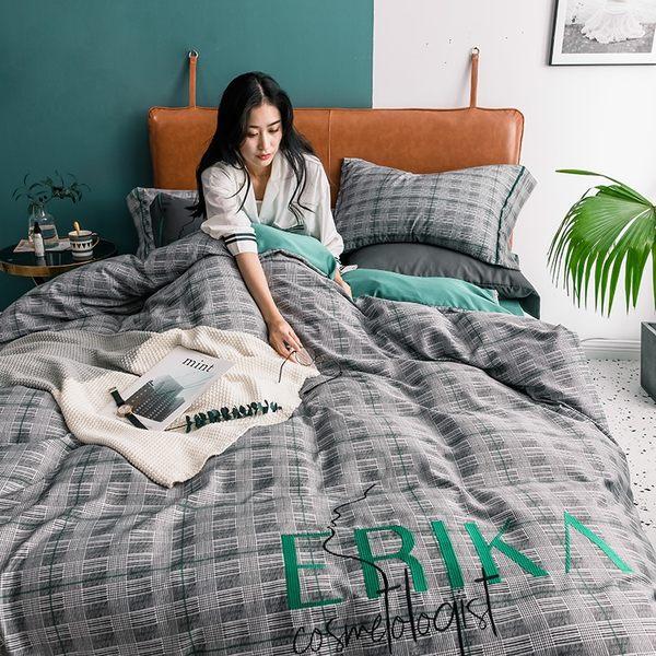 LUXY輕奢天絲綢床包被套組-雙人-ERIKA【BUNNY LIFE 邦妮生活館】