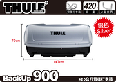 ∥MyRack∥THULE BackUp 900 單開背後式行李箱