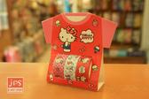 Hello Kitty 凱蒂貓 裝飾紙膠帶 內含3捲 點點紅 957717