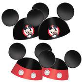 迪士尼 裝扮 迷你造型帽8入-米奇