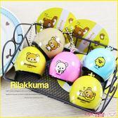 《最後1個》拉拉熊 正版 安全帽造型吊飾 鑰匙圈 玩具公仔 B17044
