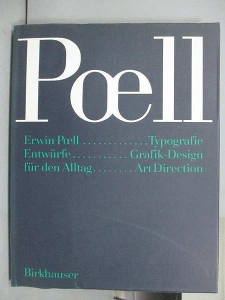 【書寶二手書T9/設計_PLD】Win Poell_Entwurfe fur den Alltag