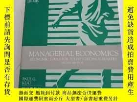 二手書博民逛書店Managerial罕見Economics: Economic