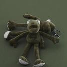 長腿青蛙公仔掛件鑰匙扣女韓國可愛芝麻街毛絨玩偶ins書包包掛飾 黛尼時尚精品