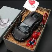 汽車模型1:24奔馳合金車模型生日禮物男生送男朋友金屬車