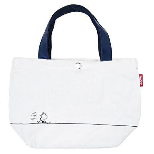 《Marimo》SNOOPY與好朋友鋪棉帆布迷你提袋(露西)★funbox生活用品★_OP52383