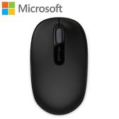 全新 Microsoft 微軟 1850 無線行動滑鼠 消光黑