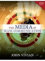 二手書博民逛書店 《The Media of Mass Communication, 2008 Update》 R2Y ISBN:020549370X│JohnVivian