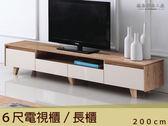 【德泰傢俱工廠】安德烈電視櫃A003-165-2