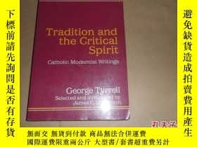 二手書博民逛書店tradition罕見and the critical spir