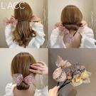 盤髪器 2020韓國代購新款丸子頭盤髮器網紅懶人蝴蝶結編髮造型神器女