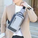 新款男士斜挎包胸包男單肩包大容量男士包包多功能休閒小挎包 8號店