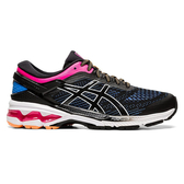 Asics Gel-kayano 26 [1012A457-004] 女鞋 慢跑 運動 輕量 避震 緩衝 亞瑟士 黑 藍