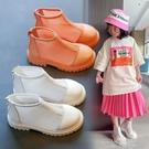 女童包腳涼鞋2021夏季新款鏤空平跟羅馬鞋小女孩網紅后拉錬短靴潮 一米陽光