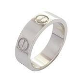 Cartier 卡地亞 Love Ring 18K白金戒指 #49 【BRAND OFF】