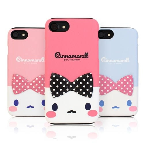 Cinnamoroll 大耳狗 雙層防摔 手機殼│iPhone 5S SE 6 6S 7 8 Plus X XS MAX XR│z7699