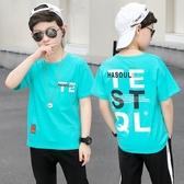 男童短袖T恤 男童短袖t恤2020年夏季新品兒童純棉體恤中大童T恤半