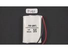 全館免運費【電池天地】PRO-WATT P14 P140萬用接頭 無線電話電池3.6V 800mah (尺寸: AAA*3)