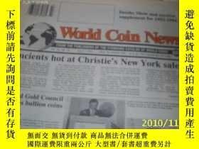 二手書博民逛書店World罕見Coin News(Vol.20,No.14)(J