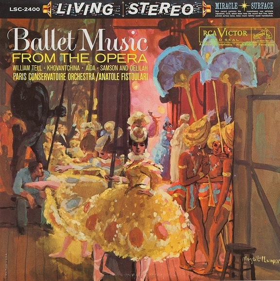 【停看聽音響唱片】【CD】Ballet Music From The Opera:Paris Conservatoire Orchestra*, Anatole Fistoulari