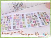 手帳貼紙│復古歐洲郵票式日記貼紙-義大利/4張