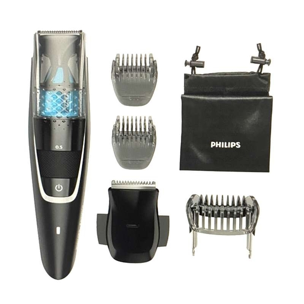 [9美國直購] Philips 電動修容刀 Norelco Series 7200 Beard Trimmer with Vacuum BT7225/49 黑色