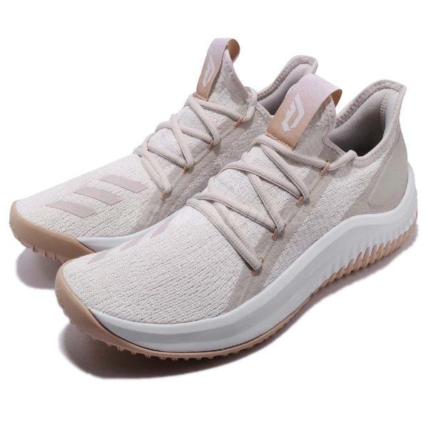 adidas 籃球鞋 Dame D.O.L.L.A 米白 白 Damian Lillard 支線系列 運動鞋 男鞋【PUMP306】 DB1074