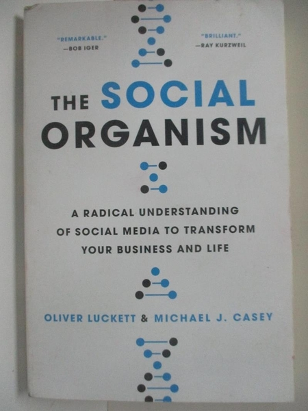 【書寶二手書T1/傳記_DNV】The Social Organism: A Radical Understanding of Social Media..