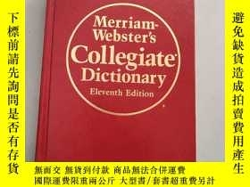 二手書博民逛書店Merriam-Webster's罕見Collegiate Dictionary(韋氏詞典 Eleventh Ed