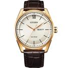 CITIZEN星辰 GENT'S 經典格紋紳士腕錶 AW0082-19A