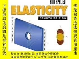 二手書博民逛書店Advanced罕見Strength And Applied Elasticity (4th Edition)