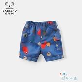 男童短褲夏季寶寶休閒褲子外穿薄款【奇趣小屋】