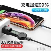 傳輸線電源線磁吸數據線強磁力充電線器磁性磁鐵吸頭手機快充蘋果 3C優購