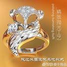 狐貍戒指女999純銀個性網紅時尚銀飾小眾設計食指足銀開口可調節  (橙子精品)