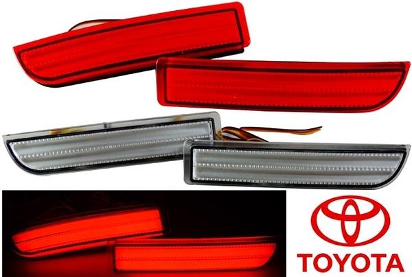 豐田專用 07年 RAV4 PREVIA 光柱型 LED保桿燈 後保燈 煞車燈 第三煞車燈 白殼 紅殼