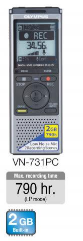 [ 中將3C ]   OLYMPUS 數位錄音筆  VN-731PC