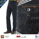 【NST Jeans】美式漫畫網點風織紋 男休閒褲 (中腰直筒) 390(3295) 台灣製 特大尺碼46腰 夏季薄款